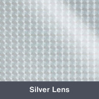 """Iron-on Silver Lens Electric 12"""" x 14.75"""""""