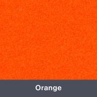 "Iron-on Orange StripFlock 12"" x 14.75"""