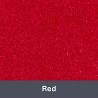 "Iron-on Red StripFlock 12"" x 14.75"""