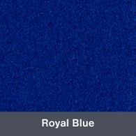 "Iron-on Royal Blue StripFlock 12"" x 14.75"""