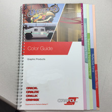 Oracal Swatch Book