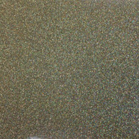 "Iron-on Gold Confetti Glitter 19.75"" x 12"""