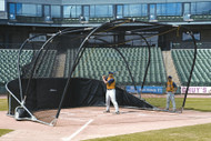 Diamond Bubba Elite Batting Cage (Complete Unit)