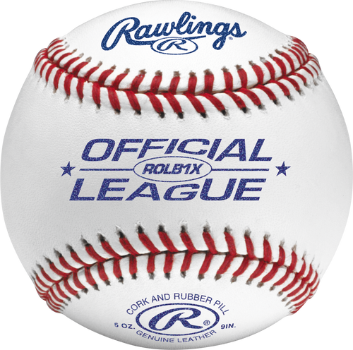 Rawlings Official League Practice Ball ROLB1X Dozen