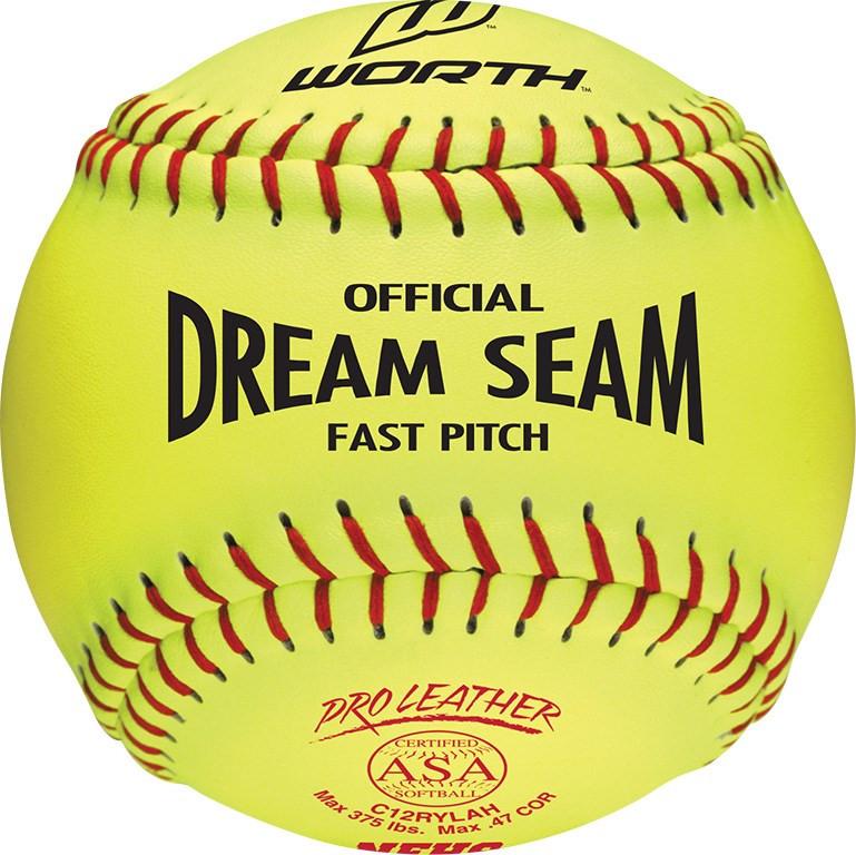 "Champro 12/"" ASA .47 COR Fastpitch Softball Dozen"