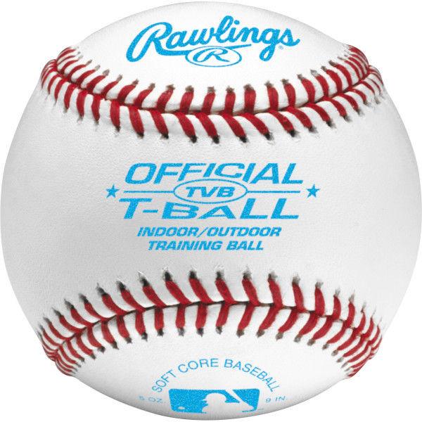 Rawlings Tball TVB Soft Baseballs (Dozen)