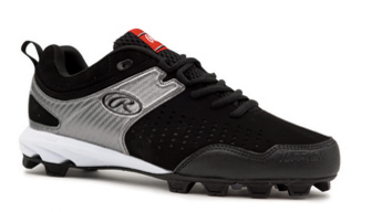 97ee2c928ec4f Rawlings Clubhouse Boys Upper Youth Cleats Black/Grey