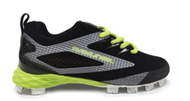 Rawlings Capture Boys Upper Youth Cleats Black/Volt Green