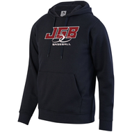 JGB Baseball Black and Red Hoodie