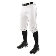 White Baseball Knicker Pants
