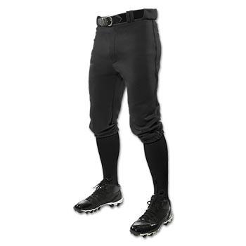 Black Baseball Knicker Pants