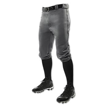 Graphite Baseball Knicker Pants