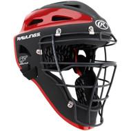 Rawlings Velo Catcher's Helmet Scarlet Adult (CHVEL-B/S)