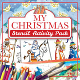 Christmas Stencil Activity Pack cover photo