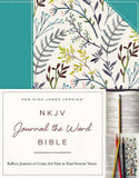 NKJV, Journal the Word Bible: Reflect, Journal, or Create Art Next to Your Favorite Verses cover photo