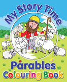 My Story Time Parables Colouring Book cover photo