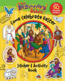 The Beginner's Bible Come Celebrate Easter Sticker and Activity Book cover photo