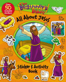 Beginner's Bible All About Jesus Sticker and Activity Book cover photo