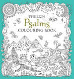 The Lion Psalms Colouring Book cover photo