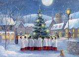 Christmas Carollers Christmas Cards (Pack of 5) [KW20B]
