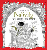 The Lion Nativity Colouring Book cover photo