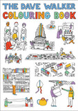 Dave Walker Colouring Book cover photo