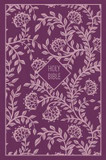 KJV, Thinline Bible, Compact, Cloth Over Board, Purple, Red Letter Edition cover photo