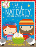 My Nativity Sticker Activity Book (With Over 250 Stickers) cover photo