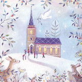 Christmas Church - Pack of 5 Cards [KQ15C]