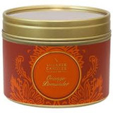 Orange & pomander scented candles in a Tin cover photo