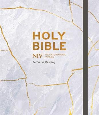 NIV Bible for Journalling and Verse-Mapping: Grey cover photo