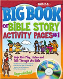 Big Book of Bible Story Activity Pages #1: Help Kids Play, Listen and Talk Through the Bible cover photo