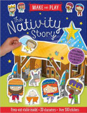 Make and Play: The Nativity Story: Press-Out Stable Model * 20 Characters * Over 20 Stickers cover photo
