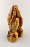Olivewood Small Praying Hands Figurine, (11cm) cover photo