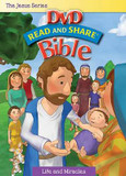 The Jesus Series: Life and Miracles: Read and Share DVD Bible cover photo
