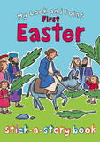 My Look and Point First Easter Stick-a-Story Book cover photo