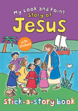 My Look and Point Story of Jesus Stick-a-Story Book cover photo