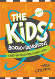 The NIRV Kids' Book of Devotions: A 365-Day Adventure in God's Word cover photo