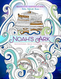 Adult Coloring Book: Majestic Expressions: Noah's Ark cover photo