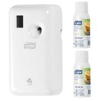 Tork Tropical Fruit Air Freshener A1 Starter Pack (236051 562000)