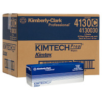 Kimberly Clark Kimtech PREP KIMTEX Pop-Up 160 Wipers Blue (4130) Kimberly Clark Professional