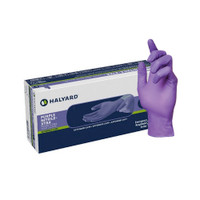 Halyard Purple Nitrile-Xtra High Risk Exam Gloves Large (50603M)