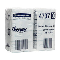 Kleenex Executive Toilet Tissue 2 Ply 48 Rolls x 300 Sheets (4737) Kimberly Clark Professional