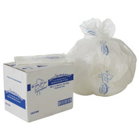 MaxValu Degradable 27 Litres Bin Liners Clear 500 Tidy Garbage Bags (GH27/500) | Maxpak Products Envirogreen Biodegradable | Environmentally Friendly