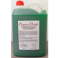 Dishwashing Liquid Detergent 5L Power Drop Super Concentrated (DW5L) Cleaning Chemicals by Eco Chemicals