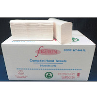 Florin Compact Hand Towels 24 Packs x 90 Towels (HT444FL) Florin Products