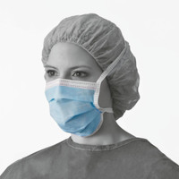 Medline Standard Surgical Tie Masks 50/box (NON27377) Medline Products
