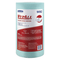 Wypall Colour Coded Green Regular Duty Wipers 6 Rolls (94142) Kimberly Clark Professional