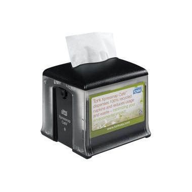 Tork® Xpressnap Café Tabletop Napkin Dispenser Black N10 (2307947) Tork Products