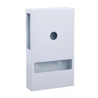 Interfold Toilet Tissue Dispenser White Enamel Florin Products